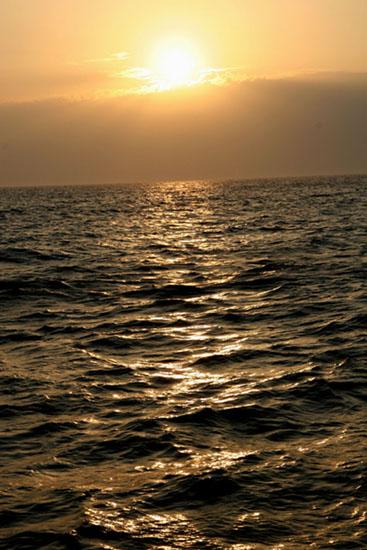 Amanecer en el Cañón de Creus / Sunrise in the Cañón de Creus ©ICM-CSIC