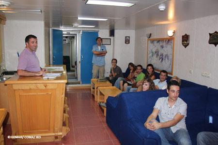 Reunión científica a bordo @ IEO