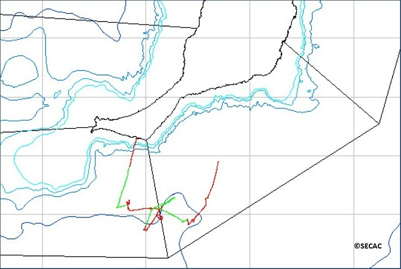 Mapa Transecto ©SECAC