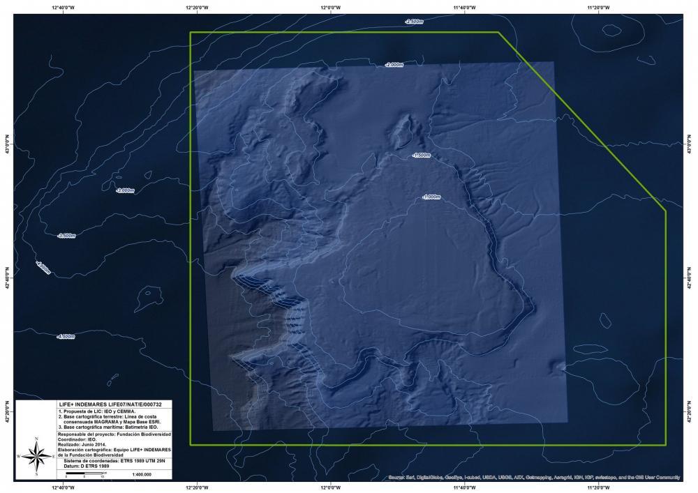 Mapa del Banco de Galicia