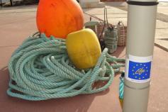 Dispositivo CPOD antes de ser colocado en el mar / The CPOD device before putting it in the sea ©ALNITAK