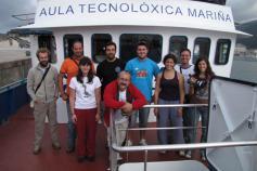 La tripulación en el Santiago Apóstolo / The crew in the Santiago Apóstolo ©CEMMA