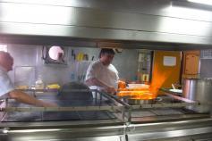 La cocina eje neurlógico del buque ©IEO