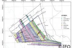 Mapa de itinerarios recorrido hasta la fecha en la campaña. La cobertura de líneas permite asegurar que se han cubierto cerca del 100% de los objetivos establecidos para esta investigación en aguas someras ©IEO
