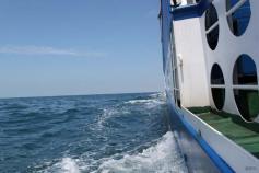 Navegando hacia una estación de muestreo ©IEO