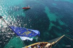El velero Toftevaag durante las campañas ©Alnitak