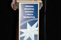 David Peña, coordinador de INDEMARES, realizando la presentación del proyecto / David Peña, INDEMARES coordinator, presenting the project ©