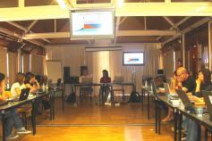 Expertos sobre cetáceos en el taller de Valsaín / Experts in cetacean in the Valsaín´s workshop ©ALNITAK