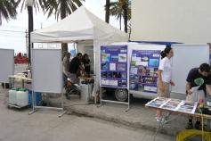 "Actividades de sensibilización en la Fiesta del Mar en Badalona / Awareness action in Badalona in the ""Fiesta del Mar"" ©ICM-CSIC"