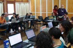 Participantes del taller ©ALNITAK