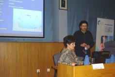 Alfredo López durante su presentación del Grupo de Acción Costera / Alfredo López during his presentation of Grupo de Acción Costera 7 ©CEMMA