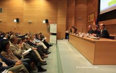 Inauguración jornadas: Teresa Ribera Rodríguez - Secretaria de Estado de Cambio Climático, Javier Ruiz Tomás - Representante de la DG de Medio Ambiente en España (Comisión Europea) y Juan Carlos del Olmo - Secretario General de WWF España