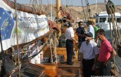 Celebración del centenario del velero noruego de investigación y conservación de cetáceos, aves y tortugas TOFTEVAAG