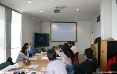 Taller Internacional sobre Ecología de Cormorán Moñudo en el Sur de Europa marzo 2010 © SEO/BirdLife